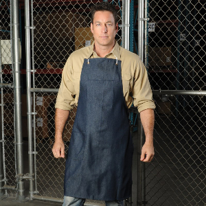 """Northern Safety Denim Apron, With Pockets, 28"""" x 38"""", 32063"""