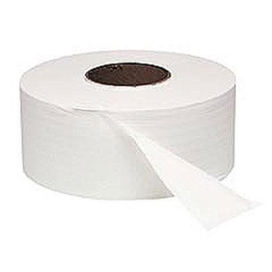 """Northern Safety 17355 Toilet Paper Roll, 2 Ply, 9"""" Jumbo Roll, Case 12"""