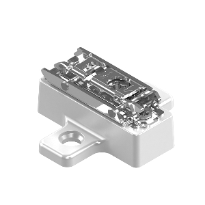 Blum 173H9100.08 13mm CLIP Hinge Mounting Think Wing Plate, Cam Adjustable