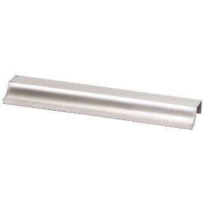 """9-7/16"""" Brushed Nickel Pull, Scoop, Berenson 1197-1BPN-C"""