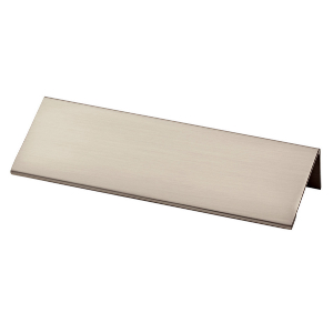 "4-5/8"" Satin Nickel Pull, Modern Edge, Liberty P31673-SN-C"