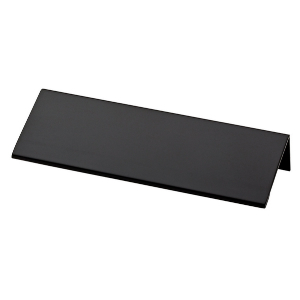 "4-5/8"" Flat Black Pull, Modern Edge, Liberty P31673-FB-C"