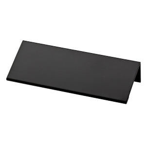 "3-13/16"" Flat Black Pull, Modern Edge, Liberty P30778C-FB-C"