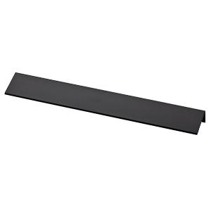 "10-13/16"" Flat Black Pull, Modern Edge, Liberty P31678-FB-C"