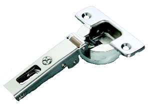 Salice C7J6AG9 110° Silentia Soft-Closing Hinge, Full Overlay, Tool-Less Logica