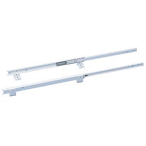 """14"""" White Bottom Mount Ball Bearing Slides Rev-A-Shelf BM-3832-14W-52"""