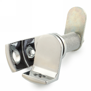 Padlockable Cam Lock, Bright Chrome, Olympus Lock DCP-US26