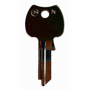 Cut Master Key for GM2 (5-pin) Master Key System, Olympus Lock KB-GM2MK-NP