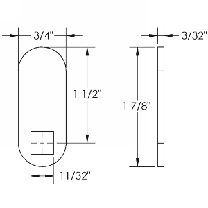 "1-1/2"" Straight Cam, Olympus Lock DCP-LC-112"