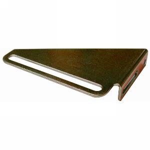 Frameless Drawer Strike, Zinc Plated, Olympus Lock 12-4-ZP