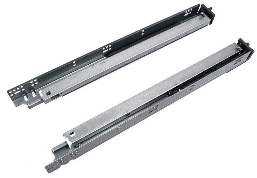 """18"""" WE 600 Series Full Extension Soft-Close Undermount Drawer Slide Box of 6 WE Preferred 0684250503961 6"""