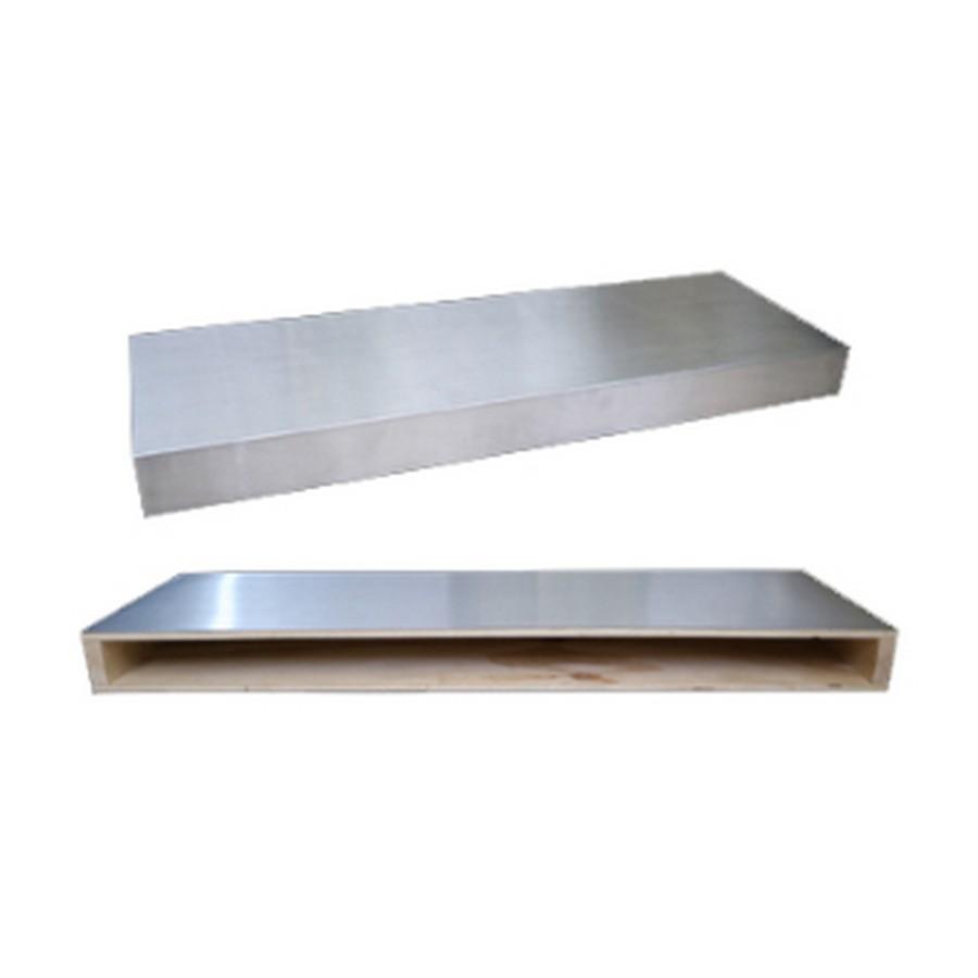 """36"""" Stainless Steel Floating Shelf Omega National FS0136STUF1"""
