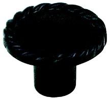 Berenson 7184-1010-C Round Design Knob, dia. 1-3/8, Rubbed Bronze, Maestro