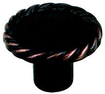 Berenson 7185-10VB-P Round Design Knob, dia. 1-3/8, Verona Bronze, Maestro