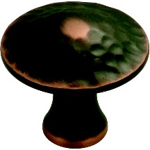 Hickory Hardware P2170-OBH Round Design Knob, dia. 1-1/4, Oil Rubbed Bronze, Craftsman