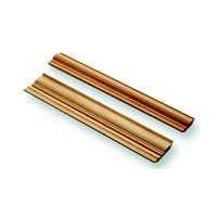 Omega National M0491OUF8, Machined Wood Crown Molding, Large Crown, 4-3/32 W x 96 L x 13/16 Thick, Red Oak
