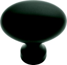 Belwith P9176-10B Oval Knob, Length 1-3/8, Oil Rubbed Bronze, Power & Beauty Series
