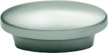Hickory Hardware P7524-SN Modern Knob, Centers 1in, Satin Nickel, Metropolis