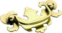 """Manor House Pull 2-1/2"""" Center to Center Lancaster Hand Polished Hickory Hardware P8257-LP"""