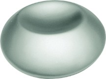 Belwith PA0212-PN Round Design Knob, dia. 1-1/4, Pearl Nickel, Metropolis