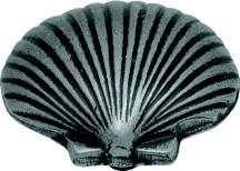 Hickory Hardware PA0112-VP Theme Knob Seashell, Length 1-3/8, Vibra Pewter, South Seas