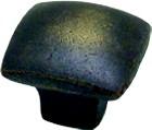 Berenson 1626-1AG-P Square Knob, Length 1-1/4, Antique Latte Glaze, American Revival