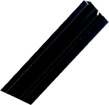 DP46-L Drawer Pull 6' Long Satin Black No Holes Engineered Products (EPCO) DP46L-BL