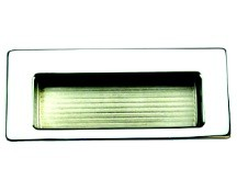 DP485 Recessed Pull 85mm Long Polished Chrome Engineered Products (EPCO) DP485-PC