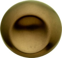 Hickory Hardware PA0212-VBZ Round Design Knob, dia. 1-1/4, Venetian Bronze, Metropolis