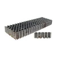 SENCO X06NRA, Corrugated Fasteners, 1in Crown, 25-Gauge, Length 3/8, Box 5,000