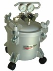 CA Tech 51-204, Pressure Tank, 2.5Gal, Double Regulator & Air Agitator