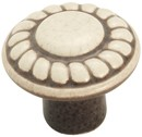 Amerock BP1321-DW Round Design Knob, dia. 1-3/8, Distressed Cream, Colour