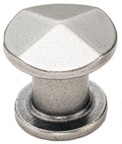 Amerock BP24003-AN Round Design Knob, dia. 30mm, Antique Nickel , Galleria