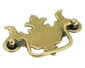 Amerock BP3425-BB Drop Handle, Centers 3in, Burnished Brass, Vintage Series