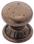 Amerock BP4485-RBZ Round Design Knob, dia. 1-1/4, Rustic Bronze, Ambrosia