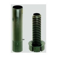 Hardware Concepts 5858-433, 5-3/4 H, Plastic Cabinet Leveler with Height Adjustment, Black