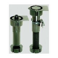 Hardware Concepts 5858-630, 7-1/4 H, Plastic Cabinet Leveler with Height Adjustment, Black