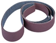 "WE Preferred Edge Sanding Belt A/O on X-Weight Cloth, 6 x 80"", 120 Grit"
