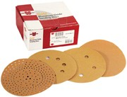 """WE Preferred Abrasive Discs A/O on C-Weight Paper, 5"""", No Hole, PSA, 280 Grit"""
