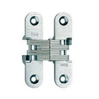 """SOSS #208, 2-3/4"""" Invisible Hinge, Dull Brass, 208US4"""