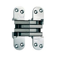 "SOSS #220, 5-1/2"" Invisible Hinge, Satin Chrome, 220US26D"