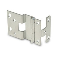 WE Preferred P848-26D 5-Knuckle Hinge for 3/4 Doors, Dull Chrome