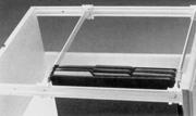 "Grass 21-1/2"" (548.5mm) File Rail, White, 01686-05,"