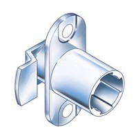 CompX Timberline CB-090 Timberline Lock Cylinder Body Only, Vertical Mount, 90-Degree Rotation, Cylinder Length 3/4, Setback 3/32, Cam Ext 13/16in