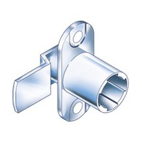 CompX Timberline CB-093 Timberline Lock Cylinder Body Only, Vertical Mount, 90-Degree Rotation, Cylinder Length 3/4, Setback 3/32, Cam Ext 1-1/4