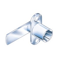 CompX Timberline CB-097 Timberline Lock Cylinder Body Only, Vertical Mount, 90-Degree Rotation, Cylinder Length 3/4, Setback 9/32, Cam Ext 1-23/32in