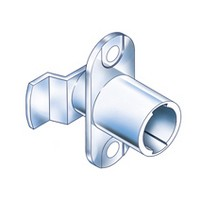 CompX Timberline CB-195 Timberline Lock Cylinder Body Only, Vertical Mount, 180-Degree Rotation, Cylinder Length 3/4, Setback 15/32, Cam Ext 13/16in