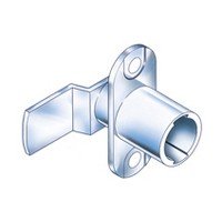 CompX Timberline CB-198 Timberline Lock Cylinder Body Only, Vertical Mount, 180-Degree Rotation, Cylinder Length 3/4, Setback 15/32, Cam Ext 1-1/4