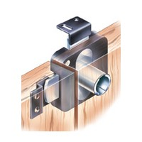 CompX Timberline CB-250 Lock Cylinder Body Only, Deadbolt Lock, Double Door Lock, Surface Mount, Lower left hand or upper right hand installation