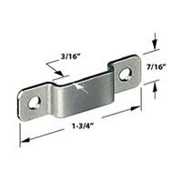 CompX Timberline SP-250-1 Timberline Lock Accessories, Strike Plate for Deadbolt Locks, Bright Nickel